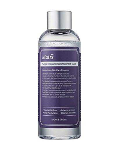 Klairs, Supple preparation Tonico facial sin aceites esenciales - 1 unidad
