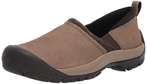 KEEN womens Kaci 2 Winter Slip on Clog Hiking Shoe, Timberwolf/Brindle, 10.5 US