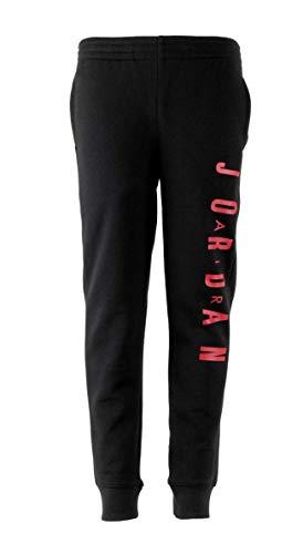 Nike Air Jordan Fleece Boys Jogger Pants (Large) Black