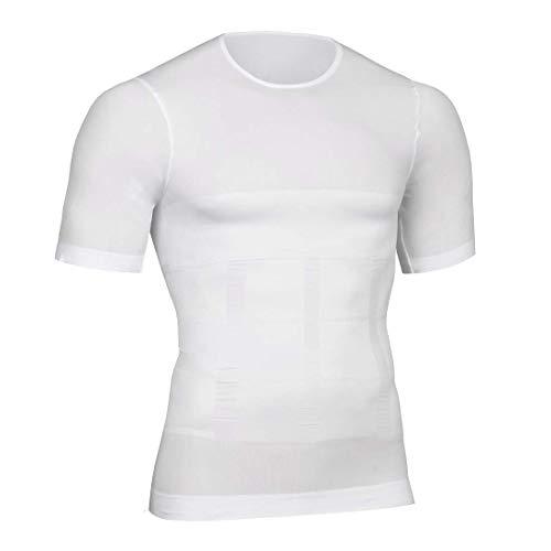 Herren Body Shapewear Belly Compression T-Shirt Abnehmen Top Wear Muscle Tank Taillen Trainer Unterhemden Bauch Kontrolle