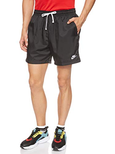 Nike Herren M NSW CE Short WVN Flow Sport, Black/(White), M