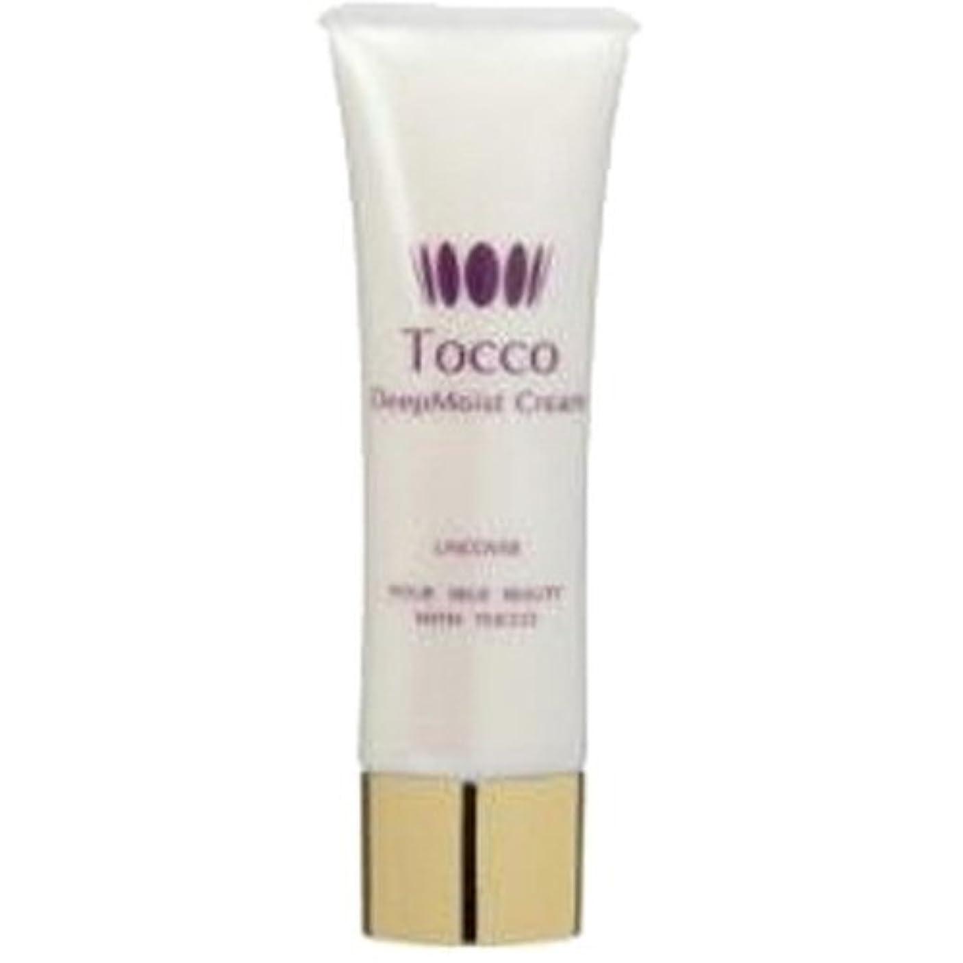 ラフ無謀縞模様のTocco(トッコ)ディープモイストクリーム 30g