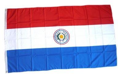 Flaggenking Paraguay Flagge/Fahne - wetterfest, mehrfarbig, 150 x 90 x 1 cm