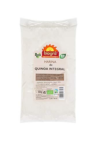 Biográ Harina De Quinoa Integral 300G Biogra Bio Envase De 300 Gramos Biográ 200 g