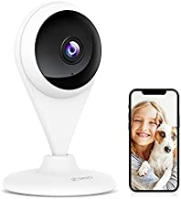 360 AC1C Indoor Security Camera, 1080P, Color Night Vision,130° View Angle, Human and Motion Detection, Activity Zones, Cloud and Local Storage, Not Compatible with 5G