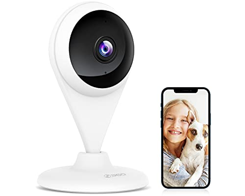 360 AC1C Indoor Security Camera, 1080P Home Camera with [Advanced AI Algorithms], Human and Motion Detection, Color Night Vision, Activity Zones, 2-Way Audio, Cloud and Local Storage,5G Not Compatible