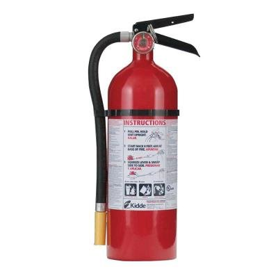 Pro 340 3-a:40-b:c Fire Extinguisher Fire Extinguisher in Light Manufacturing Areas, Restaurants, Auto Showrooms, Parking Garages and Storage Areas for Fire Preparedness.