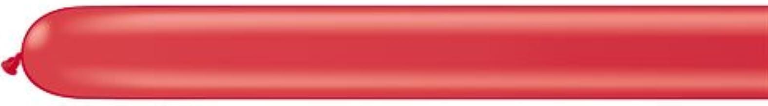 Qualatex ★260Q★スタンダードカラー(単色)約100入 レッド 【風船 バルーン】【マジックバルーン】 【ペンシルバルーン】【ツイストバルーン】【バルーンアート】【縁日】【お祭り】