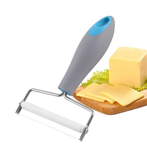 Bluedream Schaaf voor harde kaas van roestvrij staal, kaasschraper in stijlvol design, ideaal voor het koken in de keuken