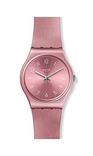 Swatch Reloj Analógico para Mujer de Cuarzo con Correa en Silicona GP161