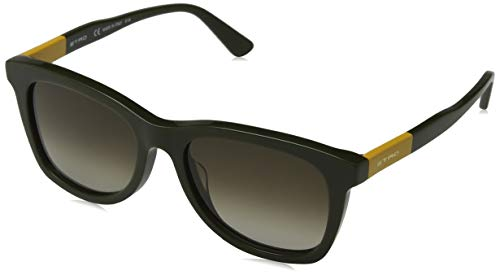 Etro ET632S 317 53 Gafas de sol, Green/Ochre, Unisex
