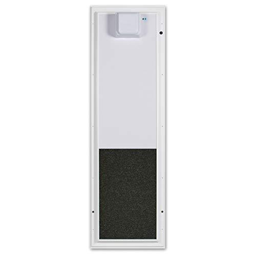 Plexidor Large Door Mount PDE Electronic Pet Door in White
