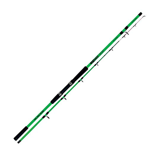 Maver Canna da Pesca dalla Barca Wave Boat 2.10 m 100-200 g per Bolentino Telescopica in Carbonio Potente e Sensibile in Vetta