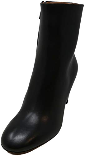 Clergerie Paris Women's Maria Black/Double Gold Ankle-High Leather Boot - 7.5 M