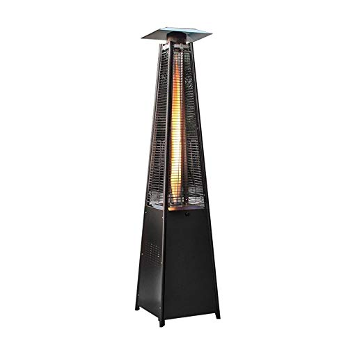 Heater, With Wheels, Hoses, Pressure Relief Valves,sions: 495x495x2270mm,Outdoor Heater With Cover