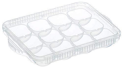 『スケーター 離乳食 保存容器 冷凍小分けトレー 12ブロック ベーシック TRMR12-A』の2枚目の画像