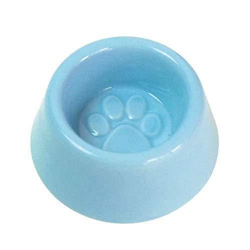 ペット仏具 虹の橋 仏具 選べる3色 お皿単品 足あと 水入れ ご飯入れ メモリアル 小さい ミニ 仏具 (ブルー)