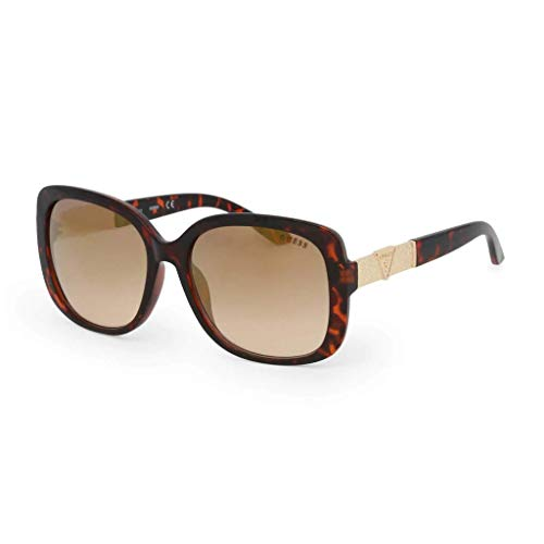 Guess GF6077-5852G Gafas, Marrón, 58/15/135 para Mujer