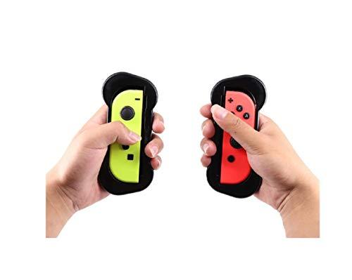 Griffe für Switch Joy-Con, Joy-Con Griffe für Switch Controller, Bequeme Controller Griff-Kits, 2 Stück Schwarz, schützendes Handheld-Gamepad für Switch Joy,