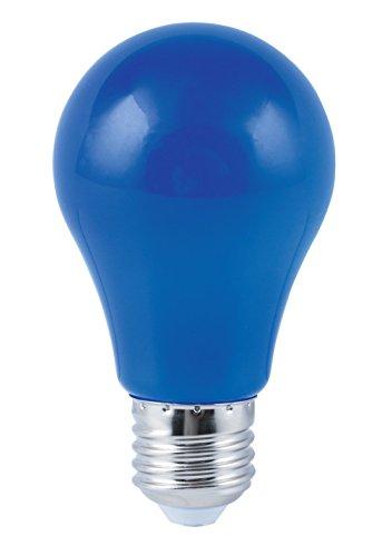 HEITRONIC LED Leuchtmittel E27 Birne 4W bunt für Lichterkette Glühlampe blau