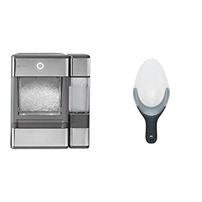 GE Profile Opal | Countertop Nugget Ice Maker & OXO Good Grips Flexible Scoop
