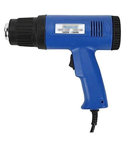 SCHOFIC 1500-Watt, 220V Dual Temperature Control Heat Gun with 50-400/550 C, Blue