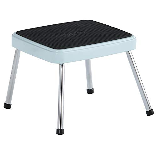 COSCO Stylaire Retro One-Step Step Stool (teal, one pack)