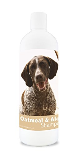 Healthy Breeds German Shorthaired Pointer Oatmeal Shampoo with Aloe 16 oz