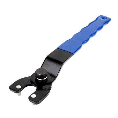 XNBCD schroefsleutel instelbare haakse slijper sleutelpin kunststof handvat Home Repair handmatige tool kit