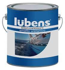 CGB-Alcas Smalto Plastico Uretanico Lubens per Nautica Ferro Legno Plastica (10 Bianco RAL 9010)