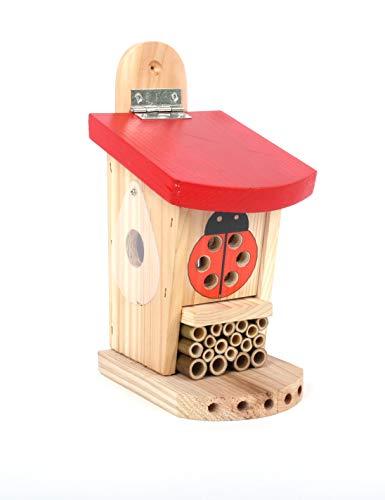 Wildlife World Live Ladybird Lodge, Red/Brown