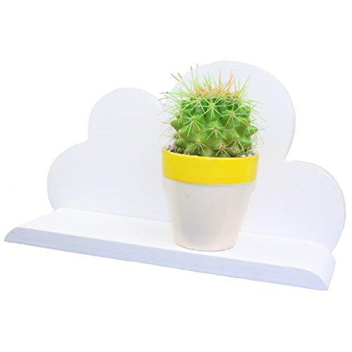 MAGIC SHOW Main -Blanc Nuage en Bois Tablette décorative HD14