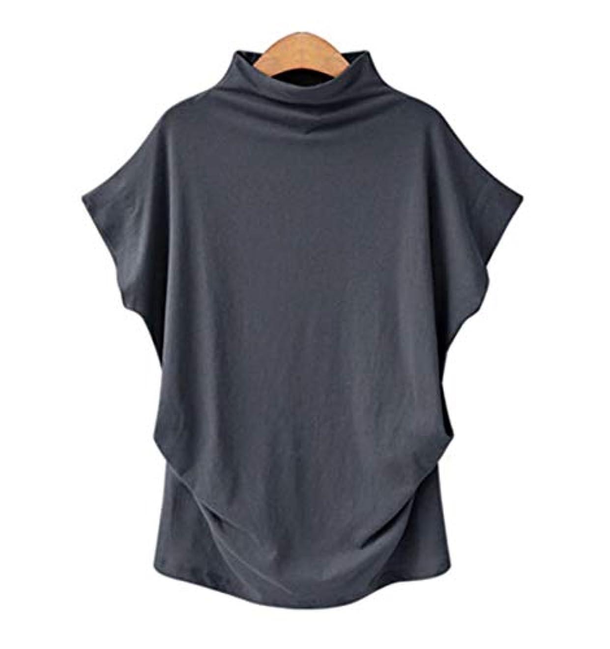 政治家弱めるエネルギー[モルクス] tシャツ カットソー フレンチスリーブ オフネック 折り返し ゆったり コットン 綿 レディース