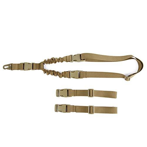 HLGQ Multifunktionsfeld Single Point Strap, Adjustable Tactical Vest-Bügel, Befestigung Tactical Bügel Für CS, Airsoft, Jagen, Camping Outdoor Sports,Sand