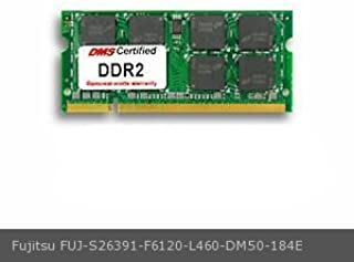 DMS Compatible/Replacement for Fujitsu S26391-F6120-L460 AMILO Pro V2030 256MB eRAM Memory 200 Pin DDR2-533 PC2-4200 32x64 CL4 1.8V SODIMM - DMS