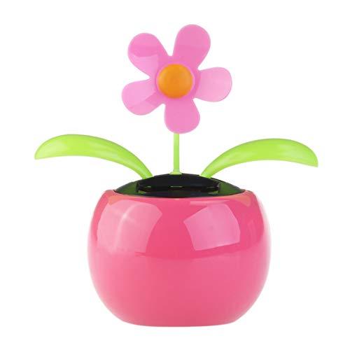 PIXNOR Zauber Schaukel Sonnenenergie Tanzen Blumen Sonnenblumen rosa