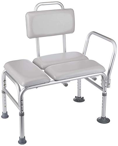 Homecraft-30315 Padded Transfer Bench, Elderly Living Assist Tool for Transferring & Moving from Shower & Bath, At Home…