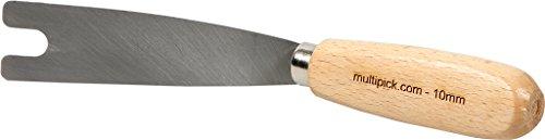 Nußmesser 10 mm gekröpfte Ausführung für Tür Beschlagheber von Multipick für den Schlüsseldienst