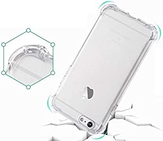 ارمور غطاء صلب اكريليكي مقاوم للصدمات لجهاز ابل ايفون 7 - شفاف