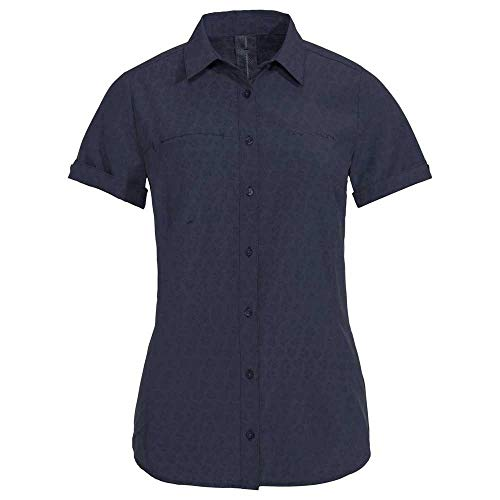 Vaude Damen Bluse Women's Rosemoor Shirt, Eclipse, 40, 41314
