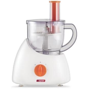 BEPER 90 312 312-Robot de Cocina, 300 W, ABS, Blanco y Naranja, 28x40x41: Amazon.es