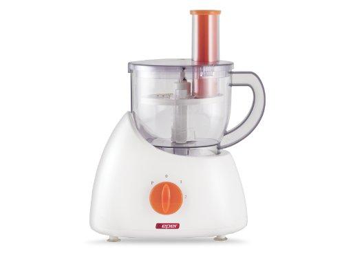 BEPER 90 312 312-Robot de Cocina, 300 W, ABS, Blanco y Naranja, 28x40x41