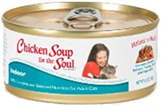 Chicken Soup for the Cat Lovers Soul Hairball Canned Cat Formula -Chicken, 24 count