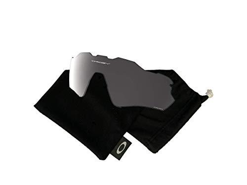 Oakley Original Radar EV Path OO9208 Replacement Lenses For Men For Women+BUNDLE with Oakley Microfiber Cloth Bag, Prizm Black Iridium Polarized, 38