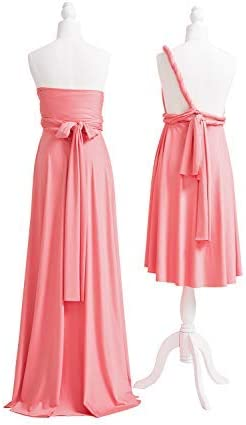 Coral evening gowns _image1