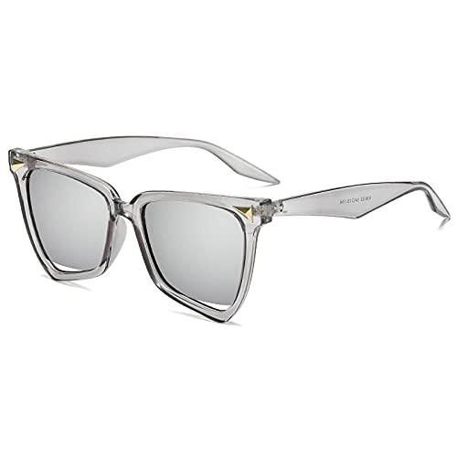 Gafas de sol Gafas de sol Gato Ojos Leopardo Color de Arco Iris Gafas de sol Damas-CABILLA DE AGUA BLANCO DE CABILIDAD C8 PEEK