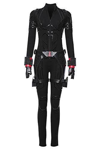 MingoTor Avengers 4 : Endgame Black Widow Outfit Disfraz Traje de Cosplay Ropa Mujer M