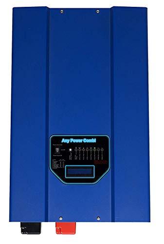 Sungoldpower 3000 W Spitze, 9000 W Niederfrequenz, SP Reiner Sinuswellen-Inverter, 90 A Batterieladegerät, Solar-Wandler, DC 12 V AC 230 V Wechselstrom, Prioritätsschalter LCD