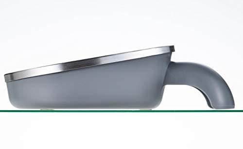 下村企販 日本製 おろし器 スゴ切れ 斜めおろし器 水切り付き 41689