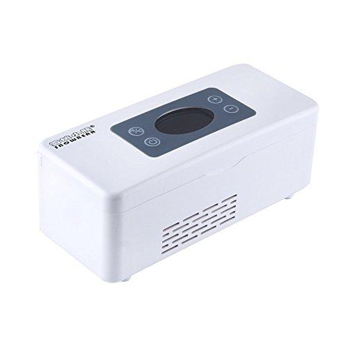 Express Panda Frigorifero per la Medicina e Dispositivo di Raffreddamento per insulina con Sistema di Controllo della Temperatura avanzata - Scatola refrigerante Portatile per Auto, Viaggio, casa